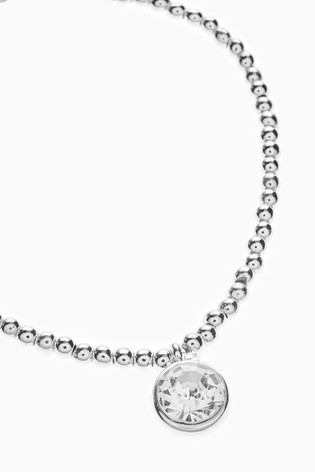 Silver Tone 'A Little Dose of Sparkle' Bracelet