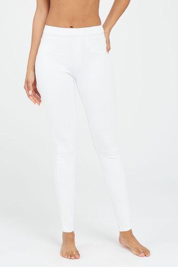 SPANX® White Jeanish Leggings