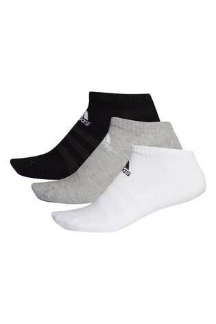 adidas Kids Cushioned Low Cut Socks Three Pack