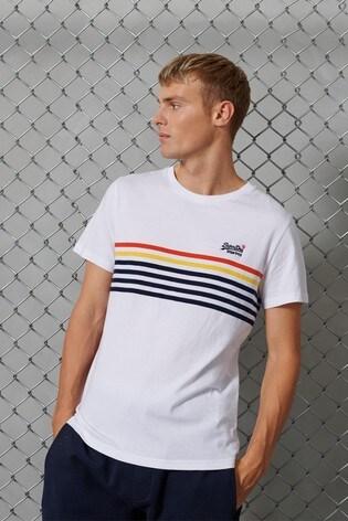 Superdry Orange Label Weekender Bretton T-Shirt