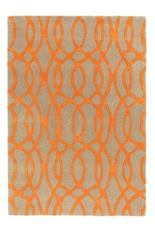 Matrix Geo Wool Rich Rug by Asiatic Rugs