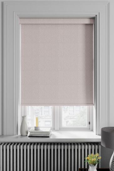 Mist Pink Arden Made To Measure Blackout Roller Blind