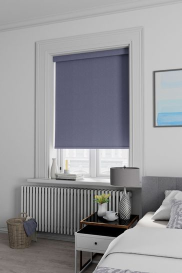 Plum Purple Arden Made To Measure Blackout Roller Blind
