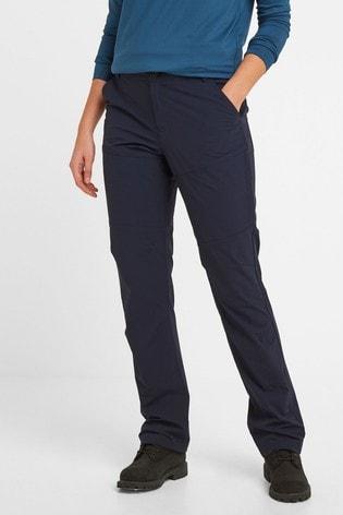 Tog 24 Womens Blue Denver Tech Regular Walking Trousers