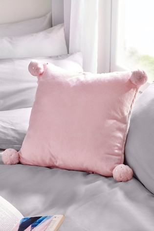 Pom Pom Star Print Cushion