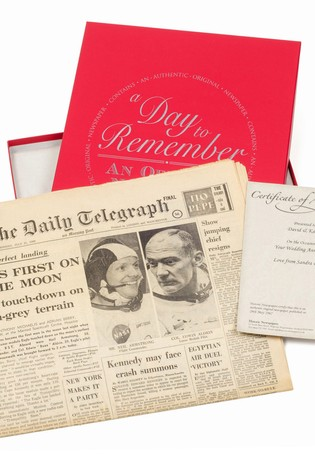 Personalised Newspaper Gift by Signature Book Publishing