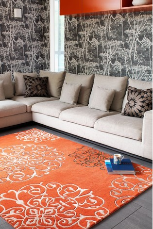 Matrix Baroque Wool Rich Rug by Asiatic Rugs