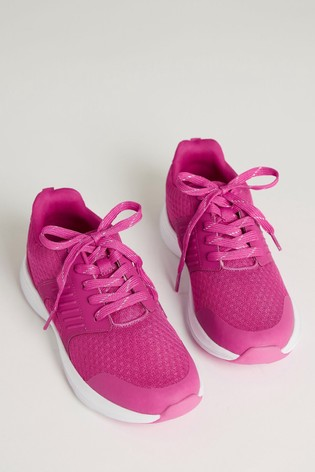 Buy F\u0026F Pink Older Girls Trainers from
