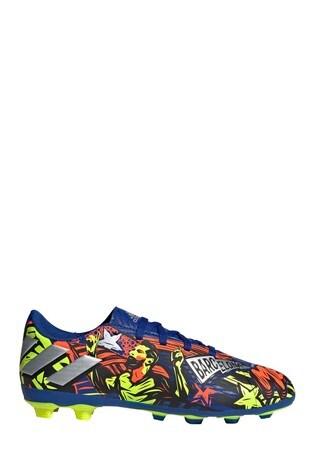 adidas Messi Blue Nemeziz P4 Firm Ground Junior & Youth Football Boots