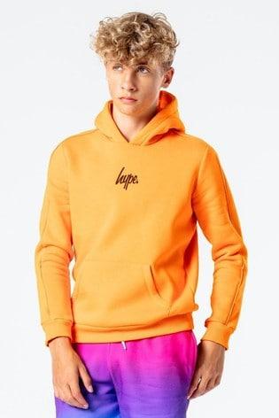 Hype. Kids Orange Europa House Pullover Hoodie