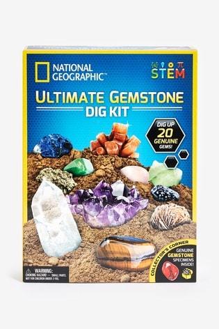 National Geographic STEM Ultimate Gemstone Dig Kit