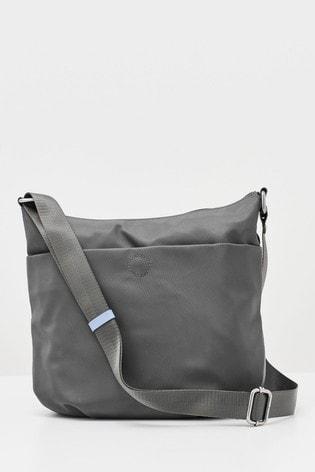 White Stuff Grey Willow Nylon Cross Body Bag