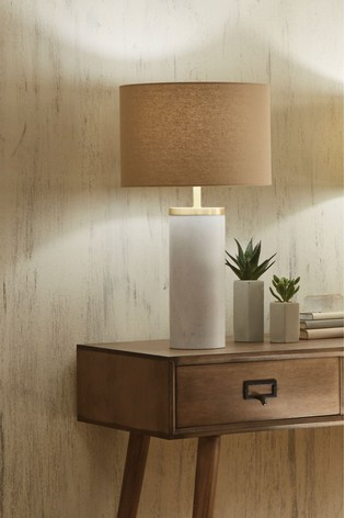 Rome Marble Table Lamp by Pacific