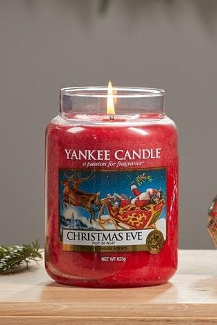 Yankee Candle Classic Large Jar Christmas Eve Candle