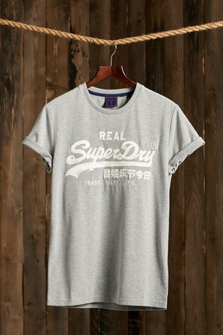 Superdry Vintage Logo Embroidery T-Shirt