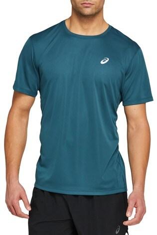 Asics Mens Blue Katakana T-Shirt