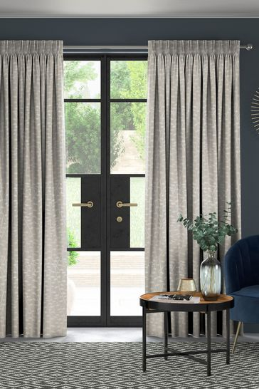 Coraline Oyster Natural Made To Measure Curtains