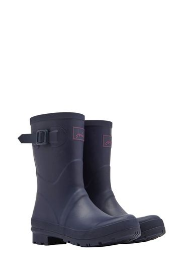 Joules Blue Kelly Welly Mid Height Wellies