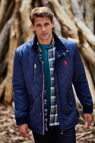 U.S. Polo Assn. USPA Quilted Hacking Jacket