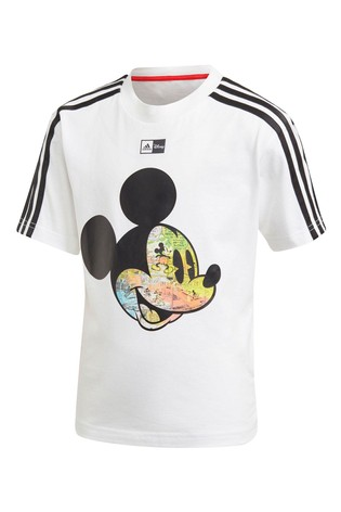 adidas Little Kids White Mickey Mouse™ T-Shirt