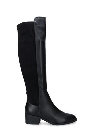 Kurt Geiger Black Tring Boots