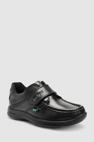 Kickers® Black Reasan Strap Shoe