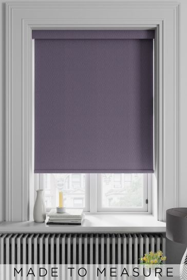 Damson Purple Arden Made To Measure Blackout Roller Blind