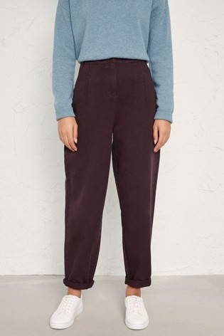 Seasalt  Brown Millcombe Trousers Bitter Cocoa