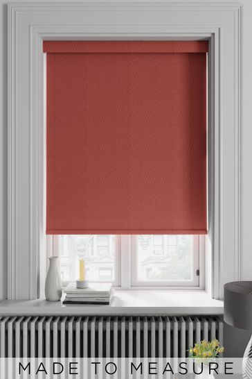 Arden Spice Red Made To Measure Blackout Roller Blind