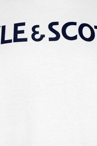 Lyle & Scott Boys Text T-Shirt