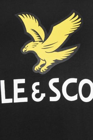Lyle & Scott Boys Eagle Logo T-Shirt