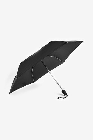 Black NEXT Automatic Open/Close Umbrella