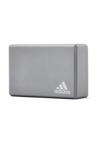 adidas Grey Yoga Block