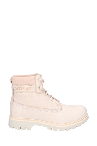 CAT® Lifestyle Pink Lyric Lace-Up Boots