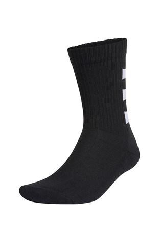 adidas Kids Linear Crew Socks Three Pack