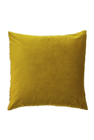 Anji Jungle Jacquard Cushion by Riva Home