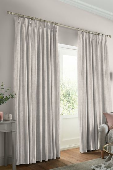 Laura Ashley Natural Whinfell Made to Measure Curtains