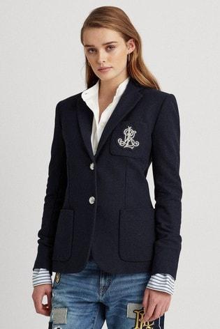 Lauren Ralph Lauren® Cotton Anfisa Blazer