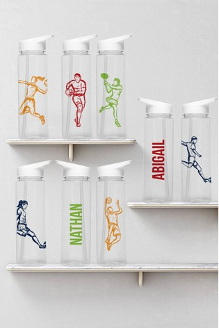 Personalised Sports Water Bottle by Signature PG