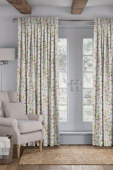 Asara Magenta Pink Made To Measure Curtains