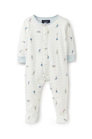 Joules Ziggy Printed Babygrow