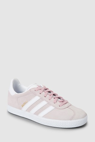 adidas Originals Pink Gazelle Youth Trainers