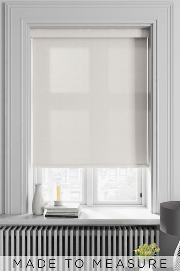 Squiggle Cream Made To Measure Roller Blind