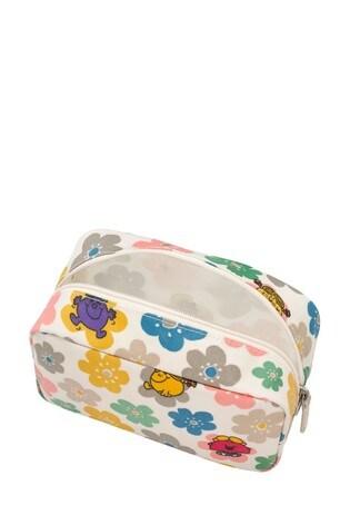 Cath Kidston Cream Box Flowers Cosmetic Bag