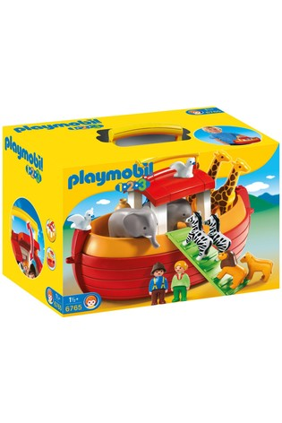 Playmobil® 6765 1.2.3 Floating Take Along Noah's Ark