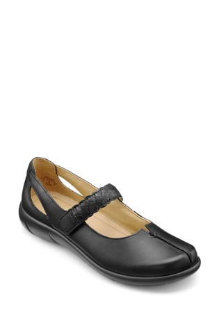 Hotter Shake Touch Fastening Mary Jane Shoes