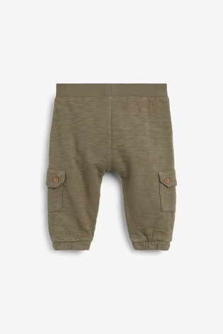 Khaki Cargo Trousers (0mths-2yrs)