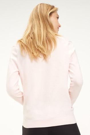 Tommy Hilfiger Heritage V-Neck Sweater su/éter para Mujer