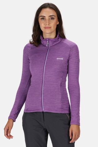 Regatta Purple Women'S Highton Lite Full Zip Soft Shell Jacket