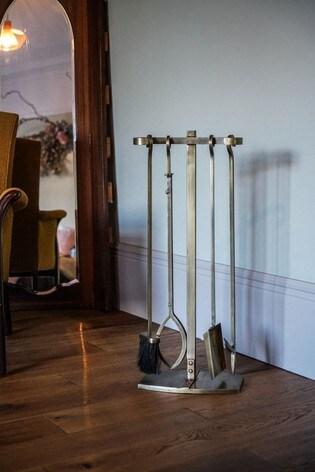 Antique Gold Companion Fireside Set by Ivyline